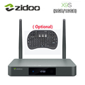 Original Zidoo X9S Smart TV BOX Android 6 0 OpenWRT NAS Realtek RTD1295 2G 16G 802