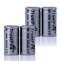 4PCS Lot Brand TrustFire 18350 3 7V 800mAh 700mah Rechargeable Lithium Li ion Unprotected Battery