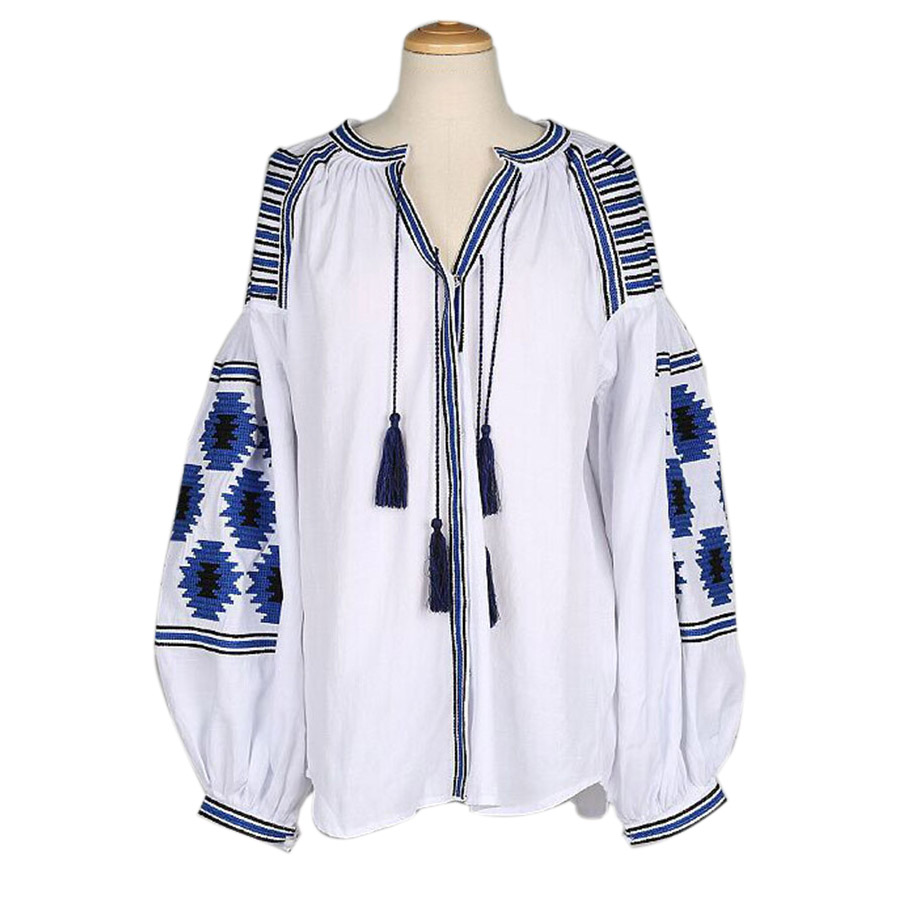 Summer style boho embroidery ethnic jackets women