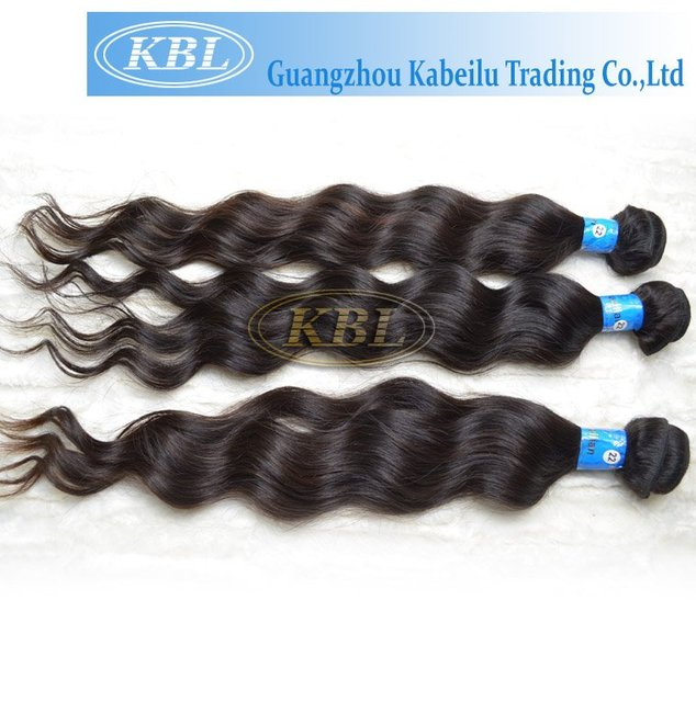 """KBL 100% Virgin brazilian remy human hair extension, 10""""-32"""" body wave natural color , fast delivery"""