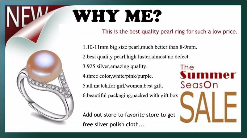 Линдо 9 - 10 мм настоящая жемчужина кольцо для женщин классический 18 К белый позолоченные ювелирные изделия горячая распродажа 925 серебряное кольцо