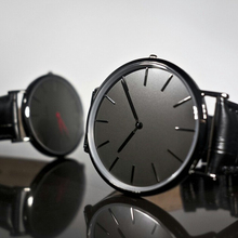 black band male clocks 2014 design china professional watch producer