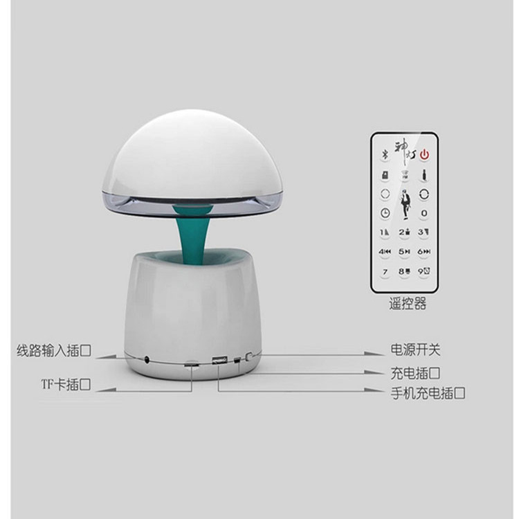 Multi function magic night light table lamp remote control atmosphere light gift with mini - Remote control night light ...
