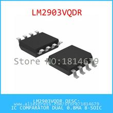 Hot Sell Integrated Circuits Original LM2903VQDR IC COMPARATOR DUAL 0.8MA 8-SOIC 2903 LM2903 5pcs