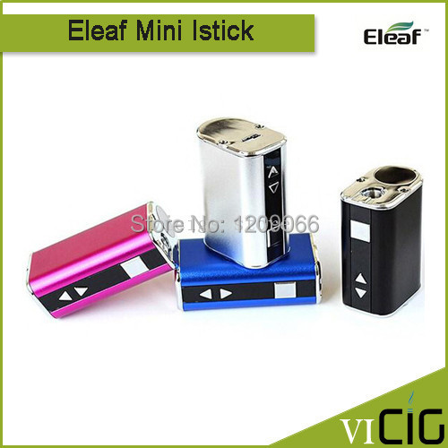 Original iSmoka Eleaf Mini iStick Variable voltage 1050mAh portable battery with LED digital display iStick mini