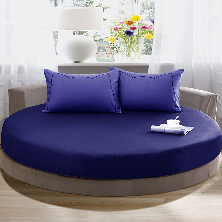 Buy 200 200cm 220 220cm round bed for Drap housse lit rond ikea