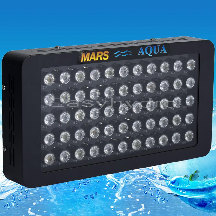 Marshydro Dimmable 165w LED Aquarium Light Full Spectrum LED Coral Reef Aquarium LED Lighting Lamp Offer Drop Shipping(China (Mainland))