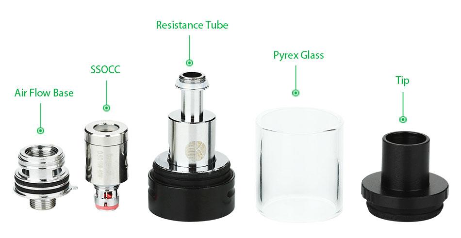 ถูก ต้นฉบับKangertech Suboxมินิ-Cบุหรี่อิเล็กทรอนิกส์ชุด50วัตต์ที่มีKBOXมินิ-Cกล่องสมัยVape TempควบคุมและProtank 5เครื่องฉีดน้ำถังจากKanger