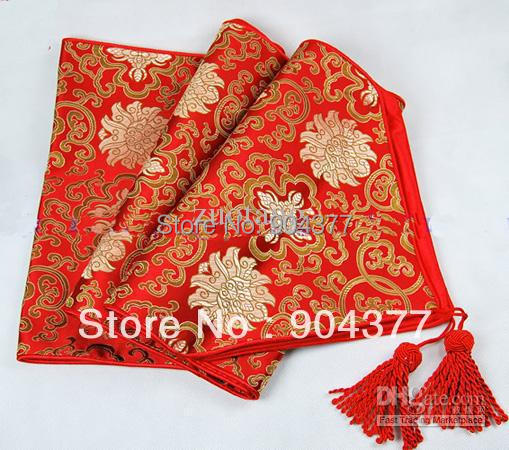 120 inch extra long party table runners red damask for 120 inch table runner