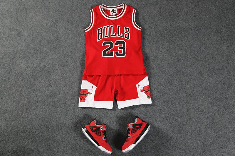 2016 Summer Clothes Children tracksuit Basketball Jerseys Boys Clothing Set Vest Shorts Girls Sport Suits Kids Sportswear(China (Mainland))