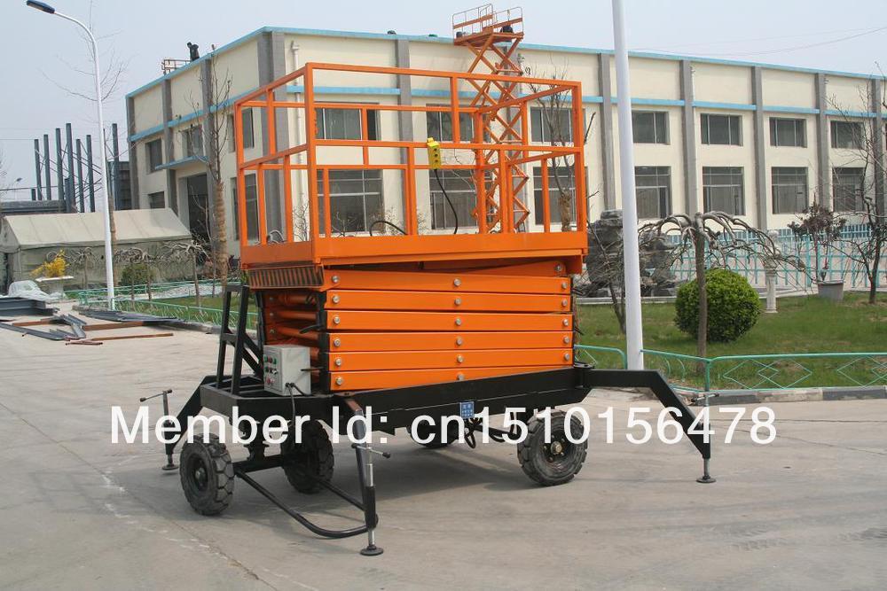 China Good Quality Mobile Scissor Lift Machine SJY0.3-6(China (Mainland))