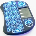 5PCS i8 Backlit 2 4G Wireless Keyboard Air Mouse USB Bluetooth Qwerty Touchpad Remote Control For