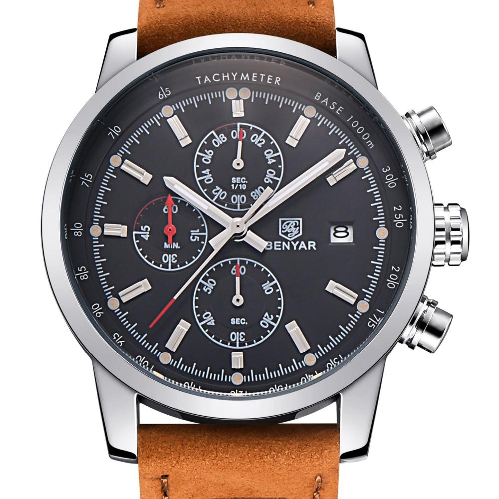 aliexpress buy benyar fashion chronograph sport mens