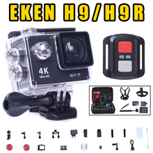 2016 Action camera Ultra HD 4K WiFi 1080P/60fps 2.0 LCD 170 lens Helmet Cam go waterproof camera pro style Original EKEN H9 H9R