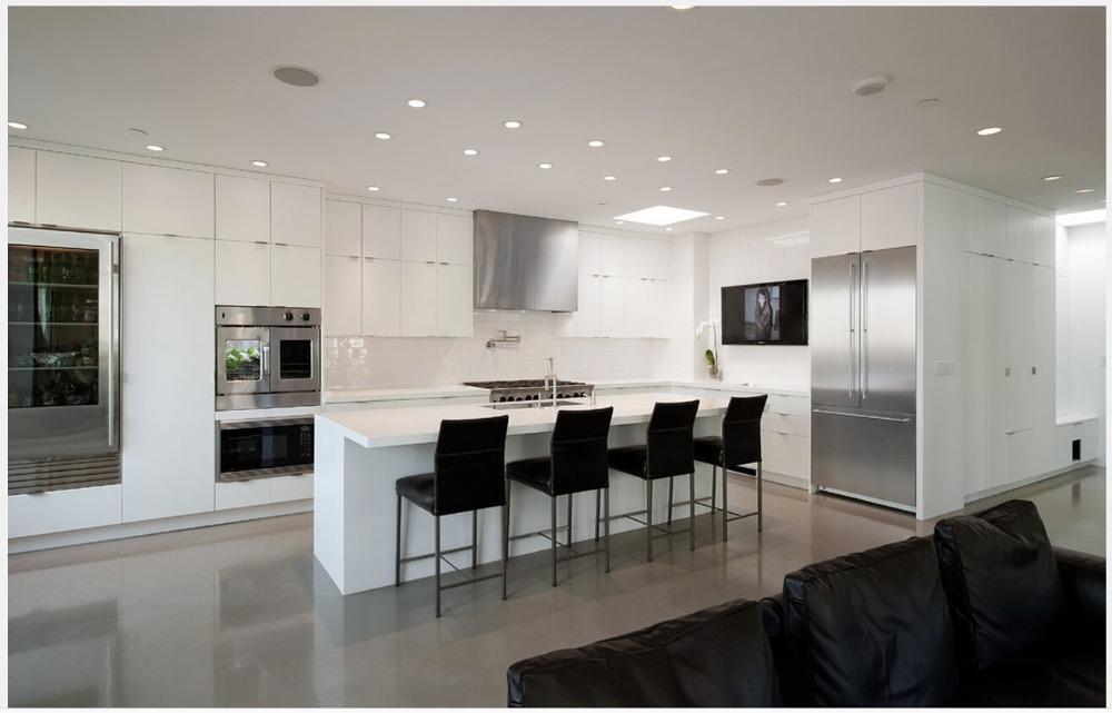 Comment Construire Une Petite Chambre Froide : 2015 nouveau design personnalisé modulaire darmoires de cuisine