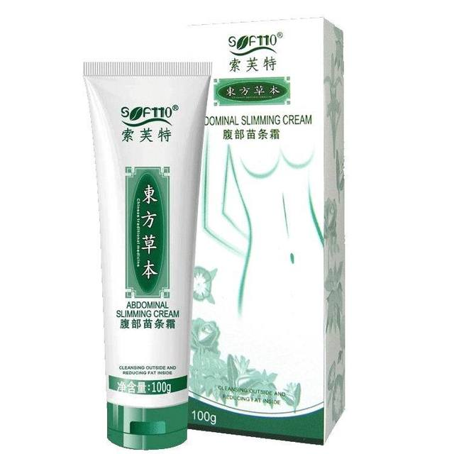 Softto abdomen slim cream 100g Abdomen slimming cream Contains natural plant , Anti Cellulite Slimming Essence , Free Shipping