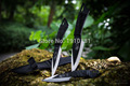 3pcs in 1Sets  Hunting Knives Outdoor camping Survival Knife 440C Stainless Steel Sheath knife