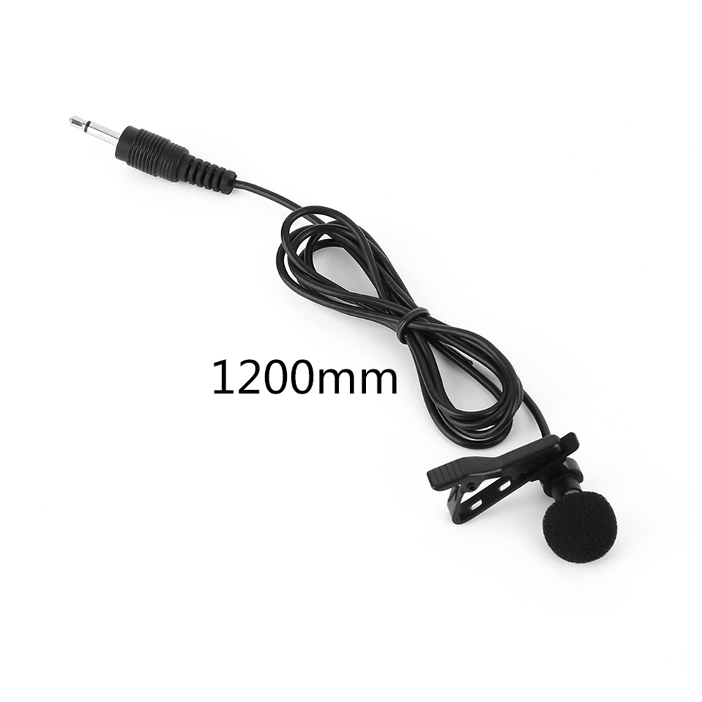 1.2m Handheld RC Drone External Condenser Microphone with Clip For DJI Osmo Gimble Camera Helicopter Accessory K5BO