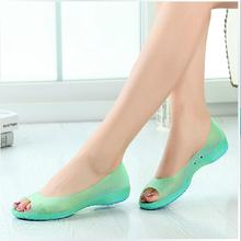 Sommer stil dame peep- toe fischkopf schuhe frauen zapatos Top-Qualität zuecos Goma garten schuhe casual clogs versandkostenfrei(China (Mainland))