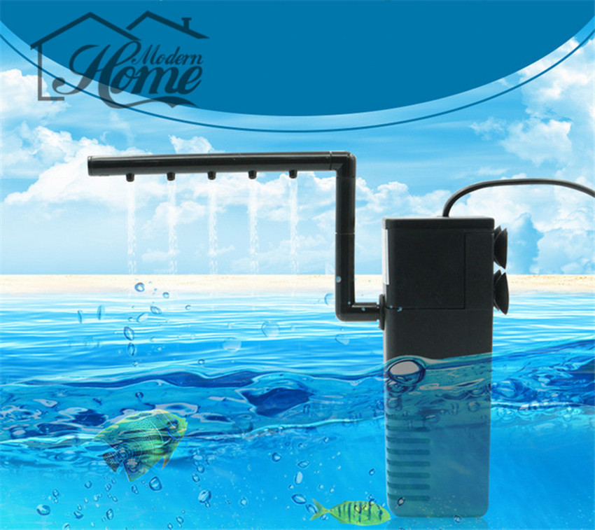 Filter acquarium 600l h aquarium internal filter for fish for Aquarium 600l