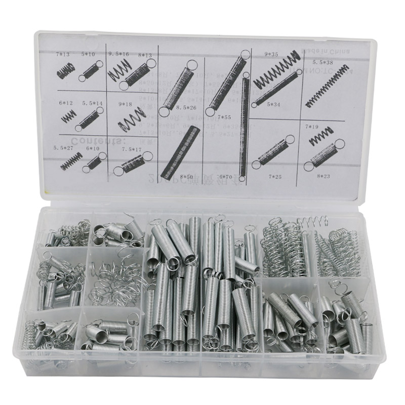 200 PCS Hardware spring/spring tension spring/pressure/suit / a goup with free shipping(China (Mainland))
