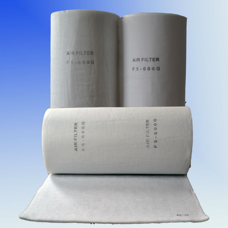 Synthetic Fiber Spray Booth Ceiling Filter, Air Filter Material(China (Mainland))