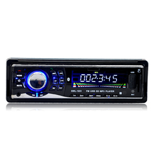 Car stereo digital receiver Bluetooth 12V FM Radio MP3 Audio Player   USB/SD/AUX/FLAC Car Electronics Subwoofer In-Dash 1DIN ID3(China (Mainland))