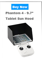 Original DJI Phantom 4 Spare Parts –Remote Controller Monitor Hood for Smartphones (Inspire 1, Phantom 3 Pro/Adv, Phantom 4)