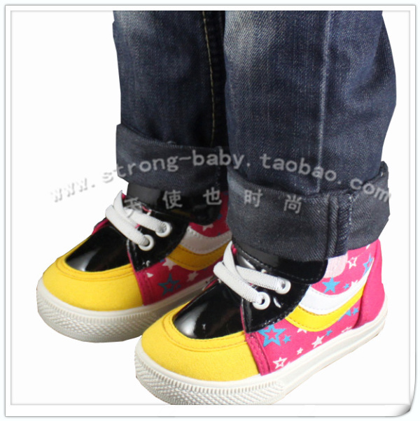Children shoes baby soft outsole toddler shoes light canvas shoes male child female single shoes xx1114