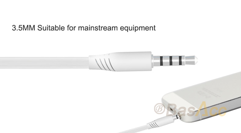Langsdom Bass 3.5mm  Earbuds Earphone with Built-in Microphone MP3  Headphone for iPhone Samsung Phone etc