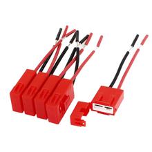 WSFS Caliente 5 Unids Recubierto De Plástico Rojo Auto Coche Cuchilla ATC Portafusibles en línea