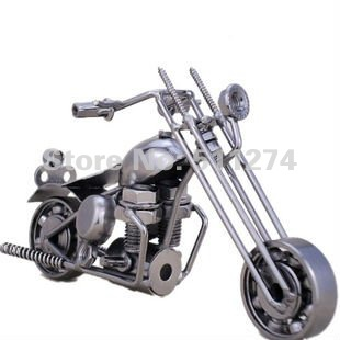 Motorcycle model craft alloy handmade craft Home Decoration/Free shipping(China (Mainland))