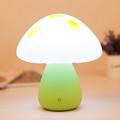 Mushroom atmosphere lamp LED Sleep touch sensor Night light Baby Bedroom Decoration bedside light cute gift
