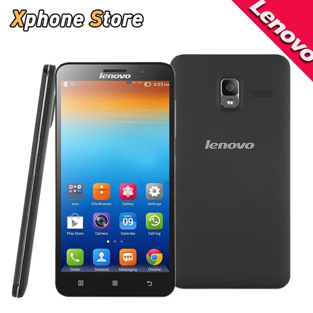 Оригинал Lenovo A850 + 5.5 ''Смарт Сотовый Телефон Android 4.2 MTK6592 8 Octa core 1.7 ГГц RAM 1 ГБ ROM 4 ГБ 3 Г WCDMA GSM Dual SIM GPS