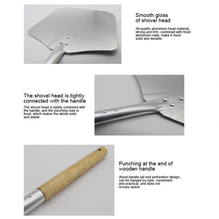 Горячий дом пиццы Shove алюминиевая ручка высокого качества лопатка для