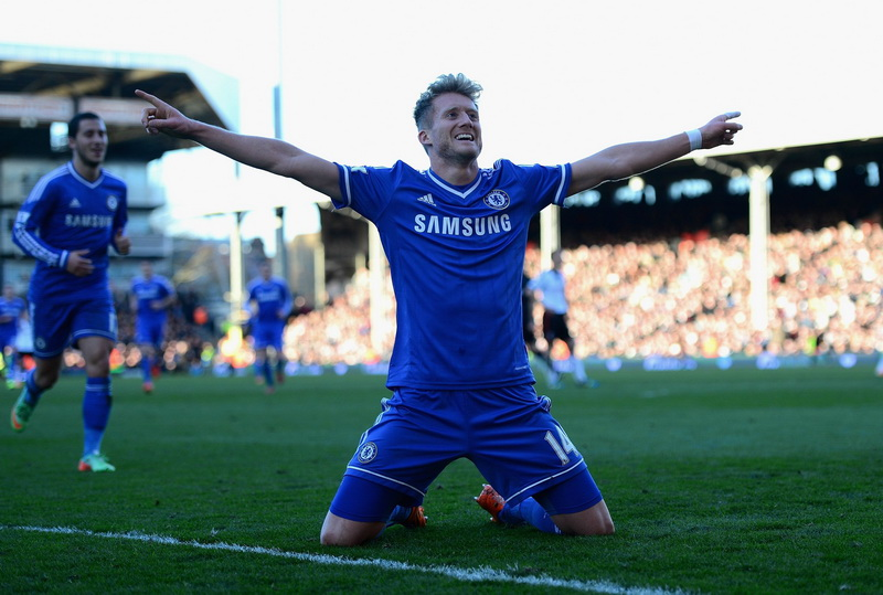 Giclee Canvas Prints Stretched Framed Fine Art Artwork For Wall Decor Andre Schurrle Chelsea Fc(China (Mainland))