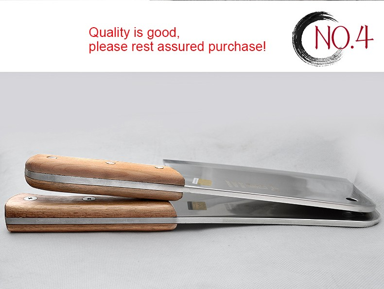 Buy Kitchen Knives Cooking Tools Chinese cutters / Utility  /chopping meat  fruit carving slice gift   chef knife Factory Price cheap