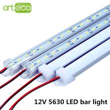 5pcs/lot DC12V 5630 LED Bar light 5630 with PC cover 50cm/36leds LED Rigid light 5630 LED hard strip(China (Mainland))