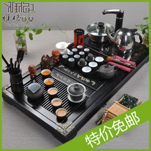 New 2013 Kung fu tea set four in one induction cooker solid wood tea tray tea sea set tea set