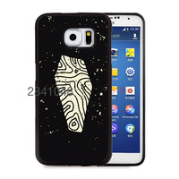 Halloween Coffin Flat Minimal soft edge cellphone cases for samsung  s6 s6edge plus s7 s7edge phone shell
