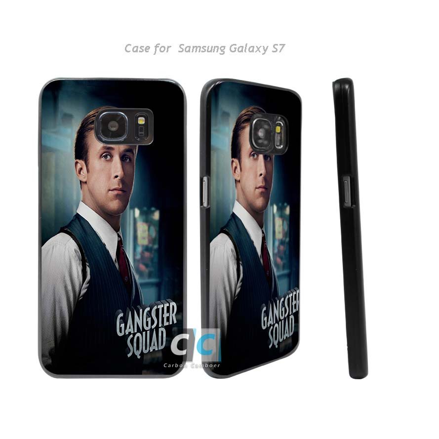 ryan gosling gangster squad Hard Black Case Cover for Samsung Galaxy s3 s4 s5 mini s6 s7 edge plus +(China (Mainland))