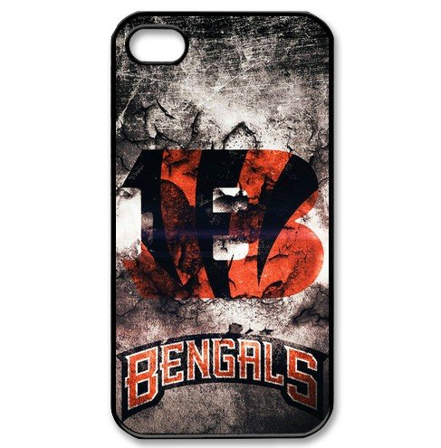 2015 New NFL Cincinnati Bengals Smartphone Cellphone Case For iphone 4/4s(China (Mainland))