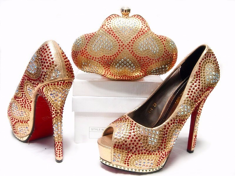 2016 New coming,African  Italian shoes and bags to match shoes with bag set! JA10-4 Pink color,Size:38-42