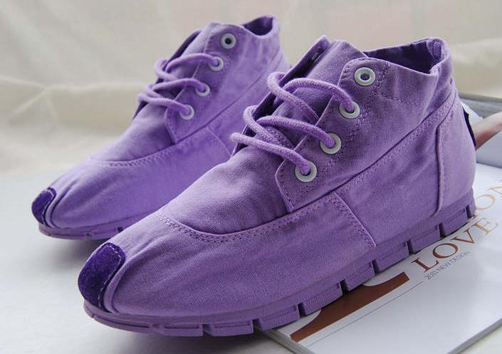 цена  2016 весной и осенью женская обувь высокого холст обувь любителей форрест случайные плоские женская обувь конфеты квартиры женская обувь  онлайн в 2017 году