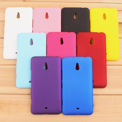9 Different Colors Hard Matte Rubber Oil Frosted Case For Nokia Lumia 1320 Mobile Phone Back Case NK13(China (Mainland))