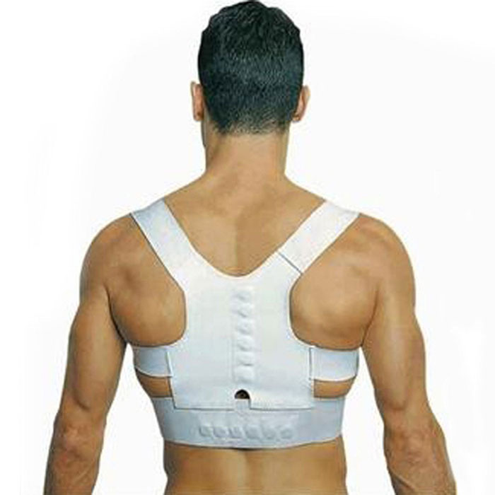 Magnetic Therapy Posture Support Corrector adjustable Tourmaline Belt Corset Back Band Pain Shoulder Supports Braces(China (Mainland))
