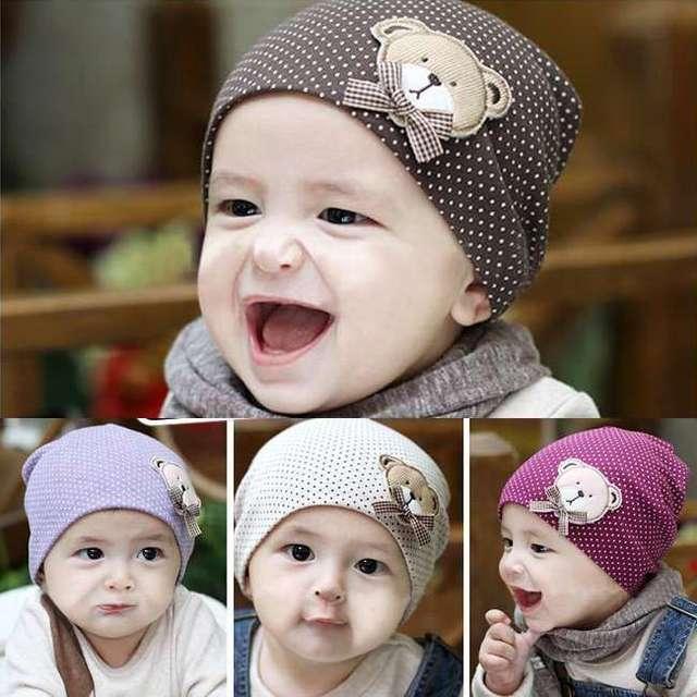 Новый крышка младенца мода детей младенческий шлем мальчики и девочки хлопок теплая ...