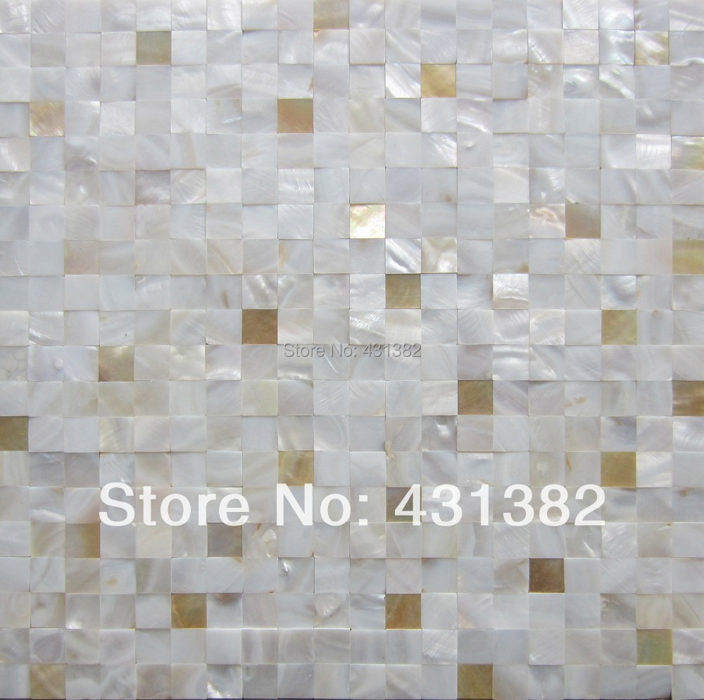 2014 style HYRX  mother of pearl and yellow lip 7% mixed shell mosaic<br><br>Aliexpress