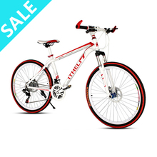 Best Mountain Bicycle 26 inch Wheel Mountain Bike Speed Mountain Bicycle Duble Disc Braking Ordinary Pedal