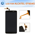 AAA LCD assembly for Alcatel OT6045 complete set LCD display touch screen digitizer One Touch Idol